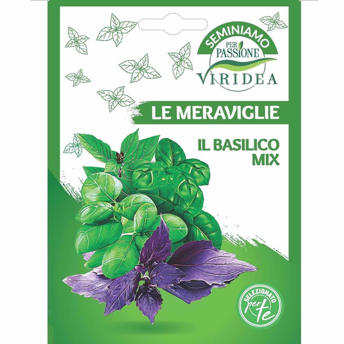 Sementi Le Meraviglie – Basilico Mix