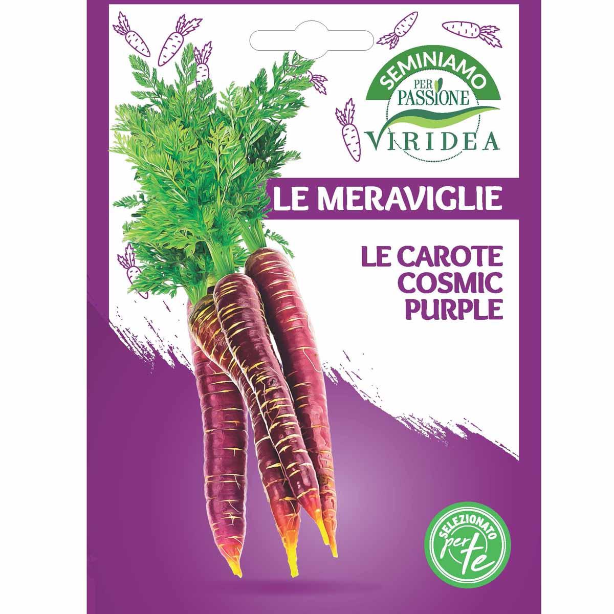 Sementi Le Meraviglie – Carote Cosmic Purple