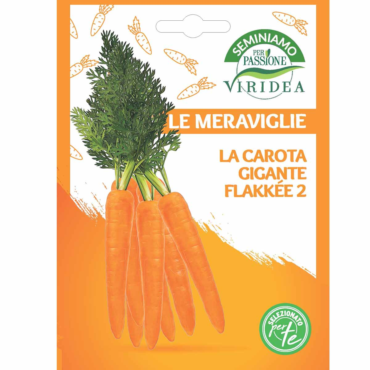 Sementi Le Meraviglie – Carota Gigante Flakkée 2