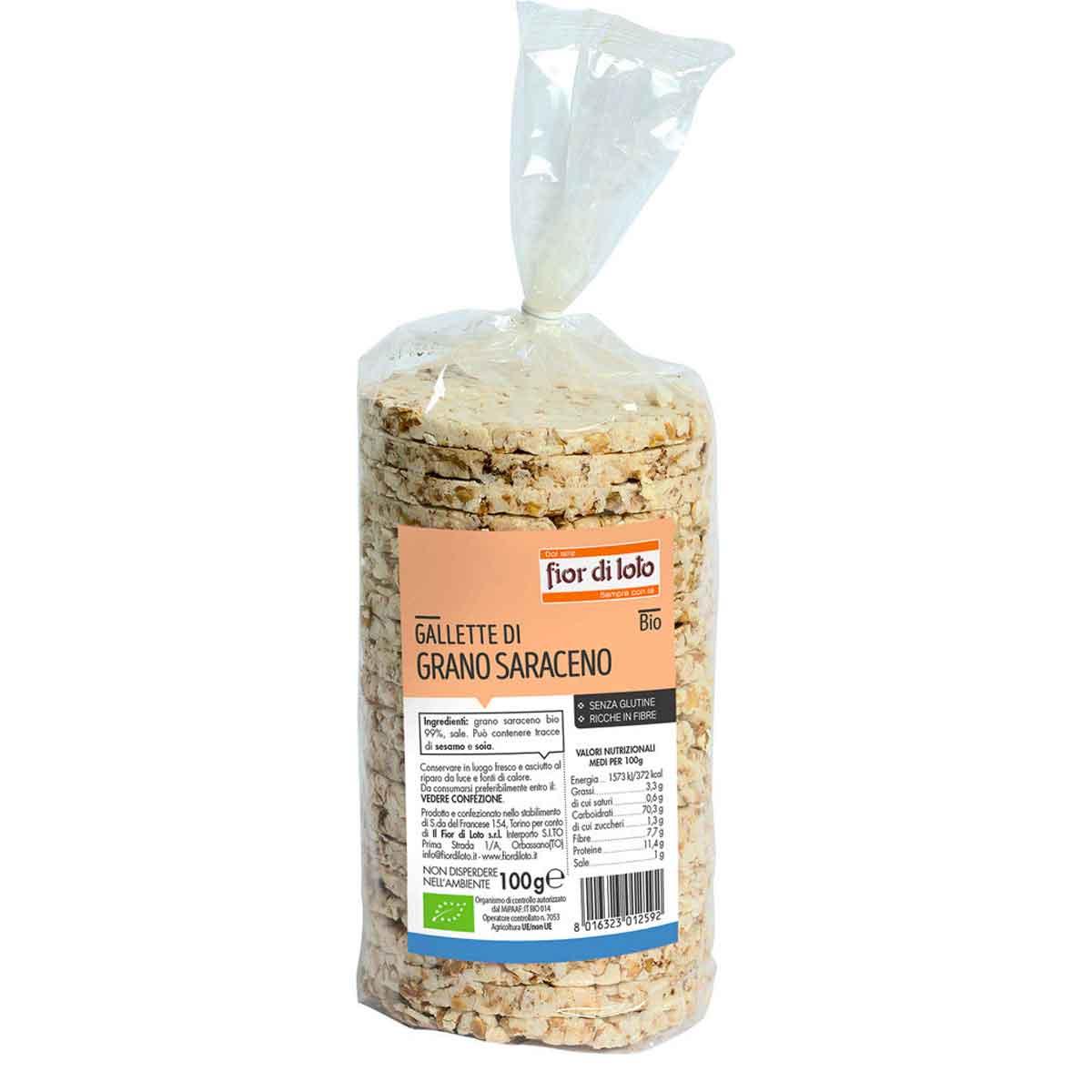 Fior di Loto Gallette di grano saraceno