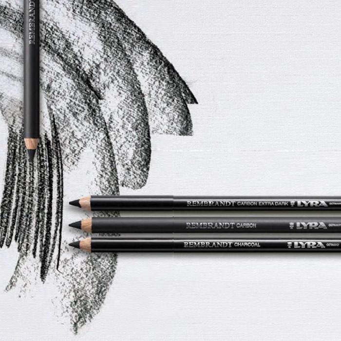 Linea Matite Lyra Rembrandt Carboncino e Carbon