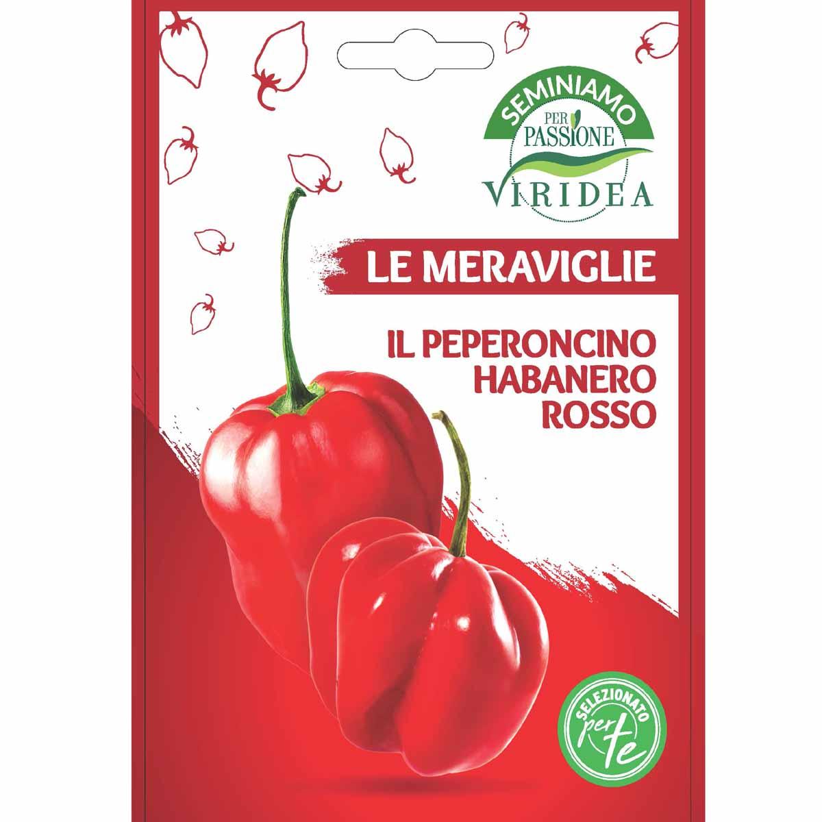 Sementi Le Meraviglie – Peperoncino Habanero Rosso