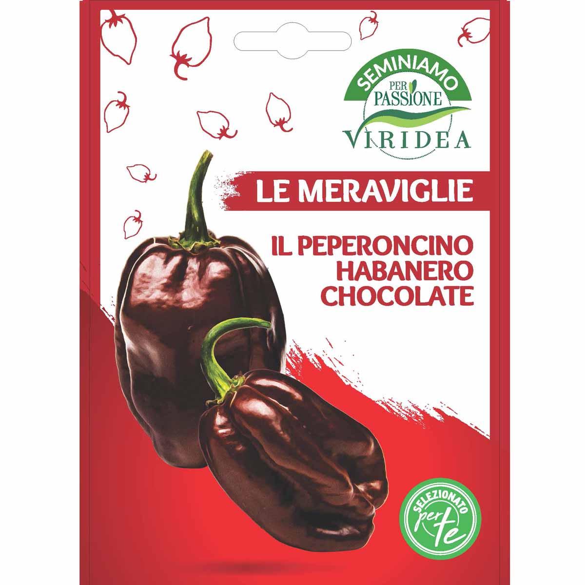 Sementi Le Meraviglie – Peperoncino Habanero Chocolate