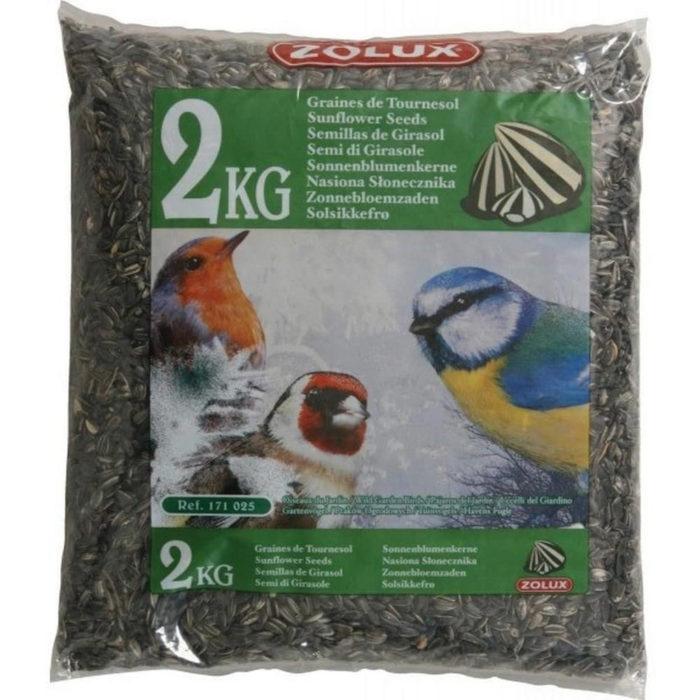 Semi di girasole per uccellini – Sacco da 2 kg