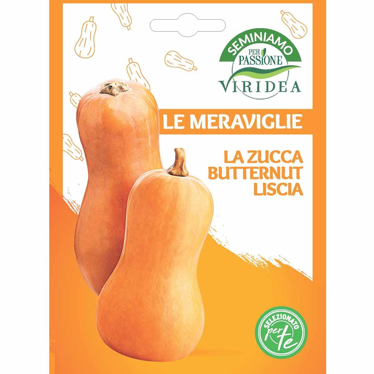 Sementi Le Meraviglie – Zucca Butternut Liscia