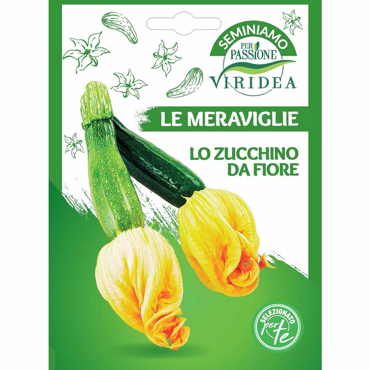 Sementi Le Meraviglie – Zucchino da fiore