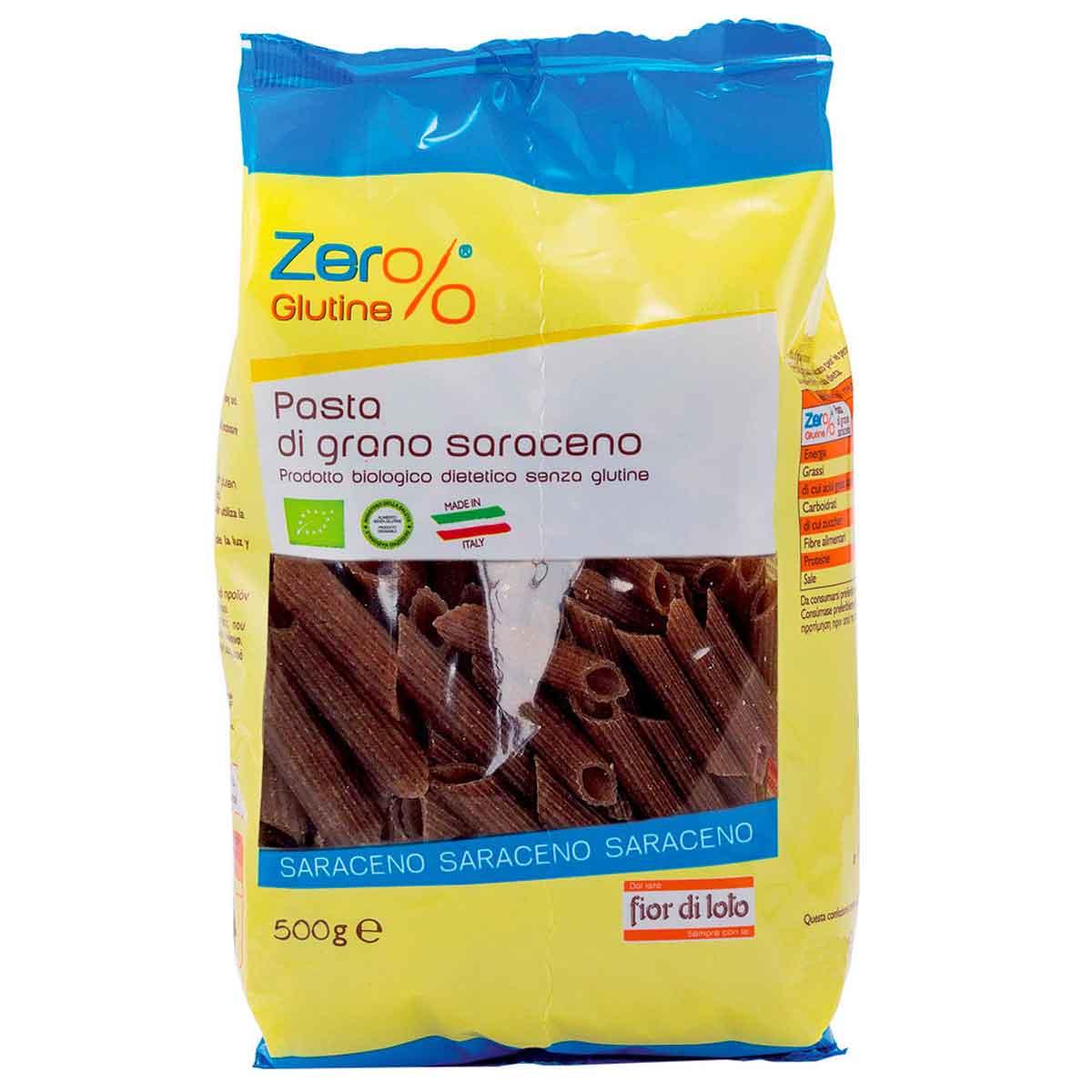 Zer% Glutine Penne di grano saraceno