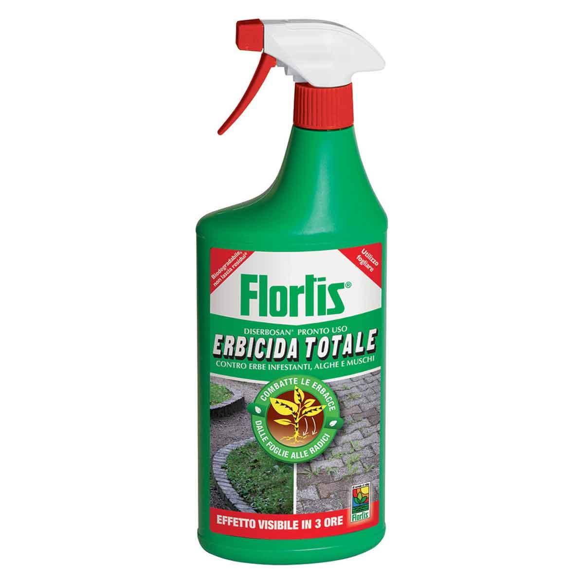 Flortis Diserbosan Erbicida totale pronto all'uso