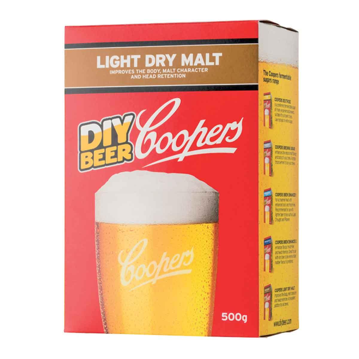 Malto per birra Cooper Intensificatore Light Dry Malt
