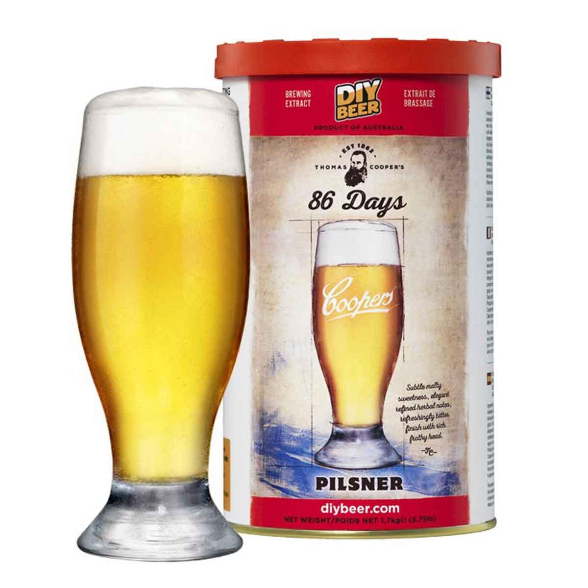 Malto per birra Coopers 86 Days Pilsner