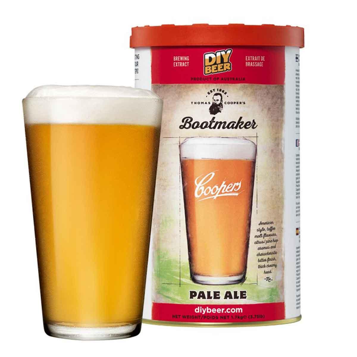 Malto per birra Coopers Bootmaker Pale Ale