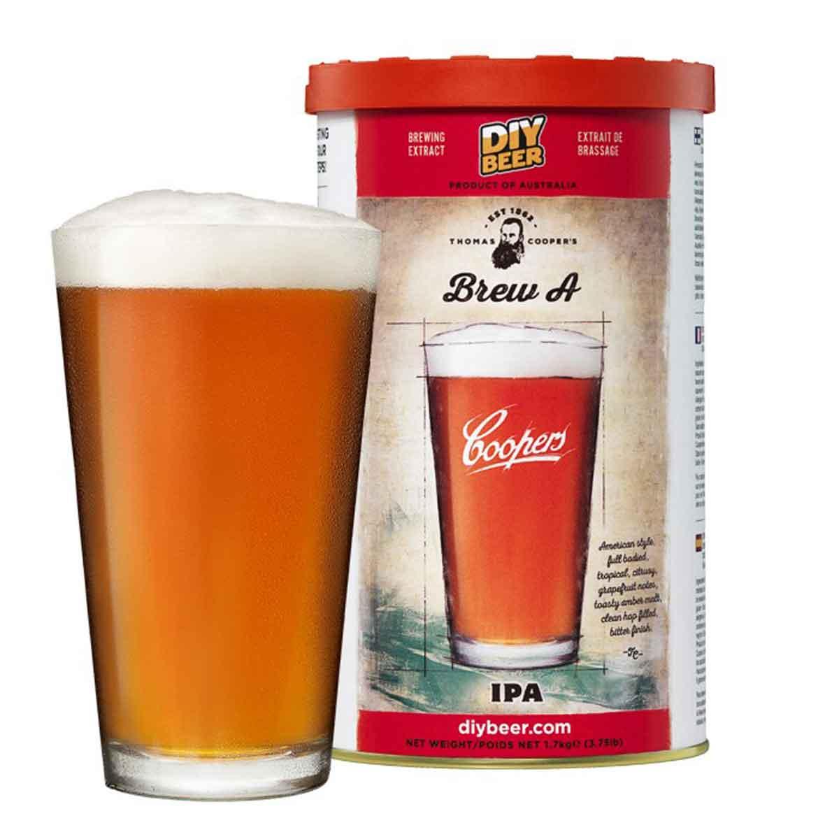 Malto per birra Coopers Brew a Ipa