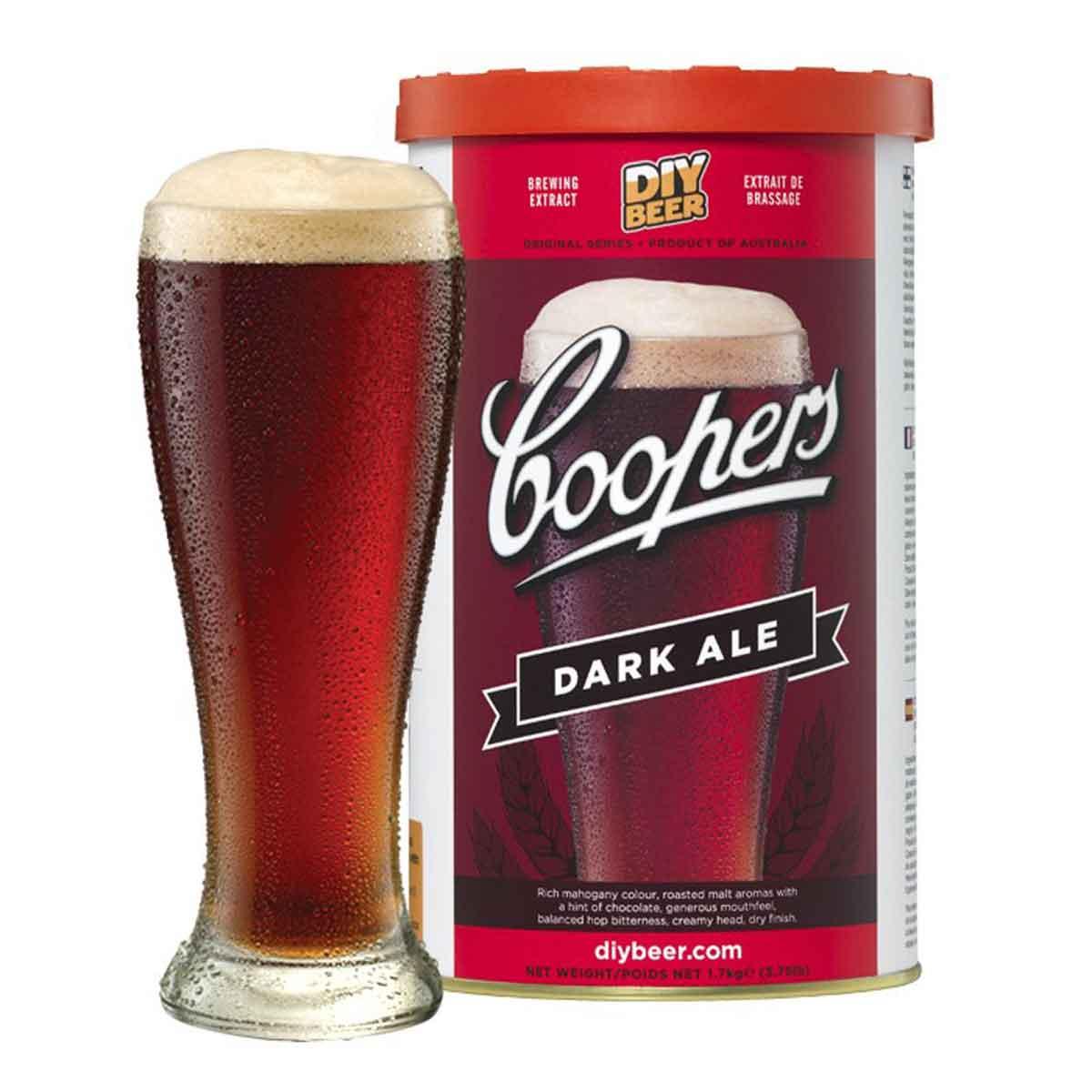 Malto per birra Coopers Dark Ale