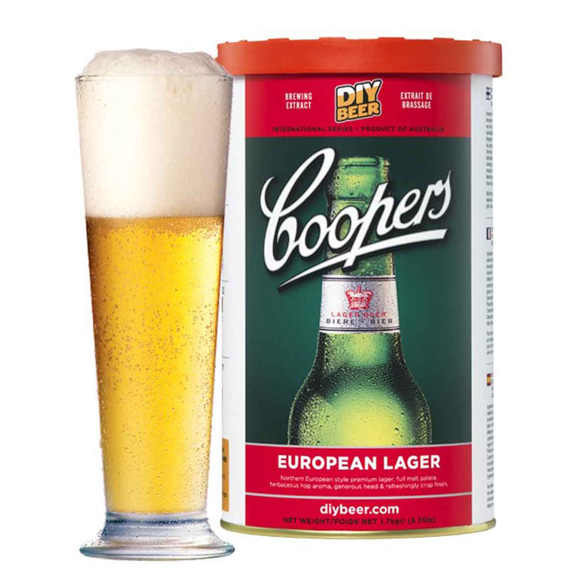 Malto per birra Coopers European Lager