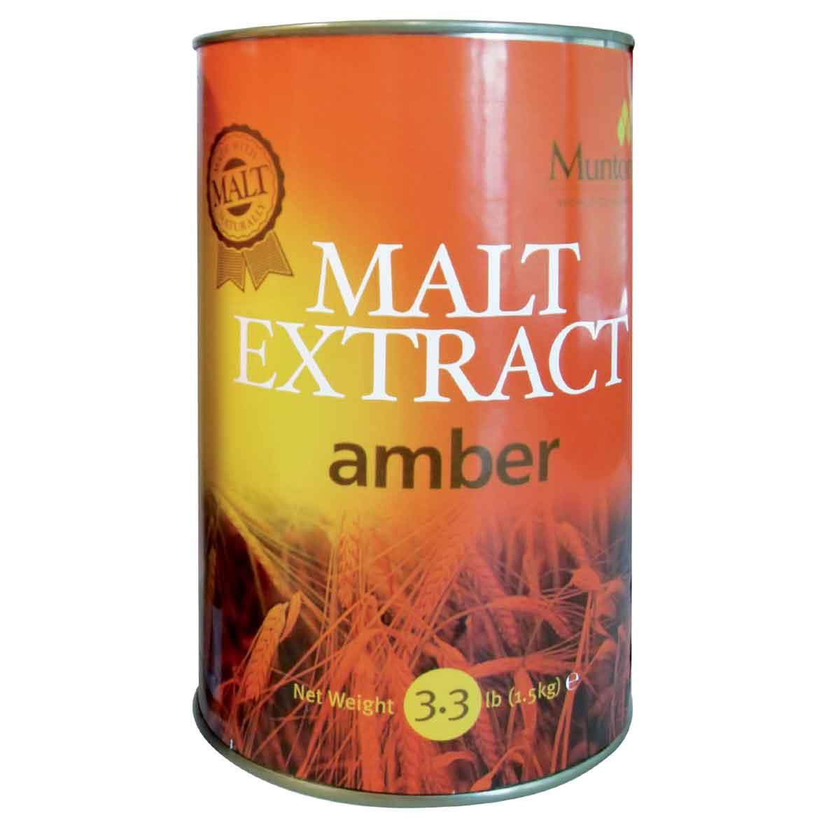 Malto per birra Coopers Mountons non luppolato Amber