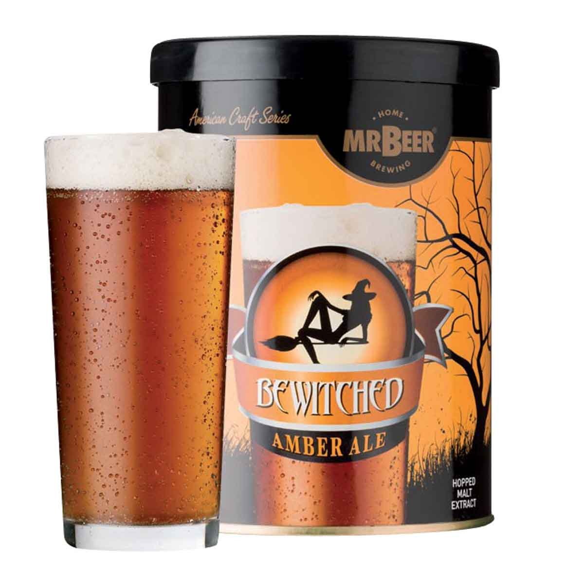 Malto per birra Coopers Mr. Beer Bewitched Amber Ale