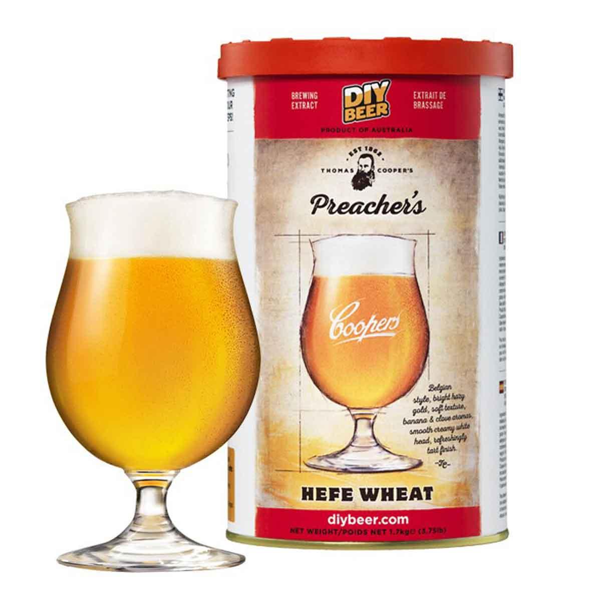 Malto per birra Coopers Preacher's Hefe Wheat