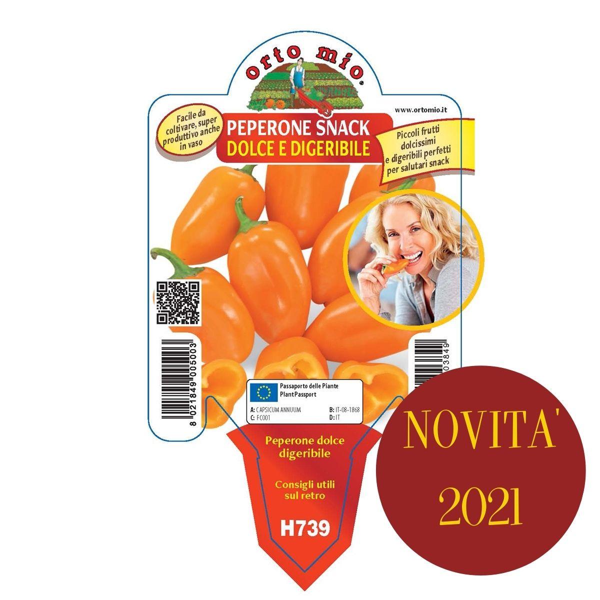 Peperone Mini Snack F1 in 3 Colori