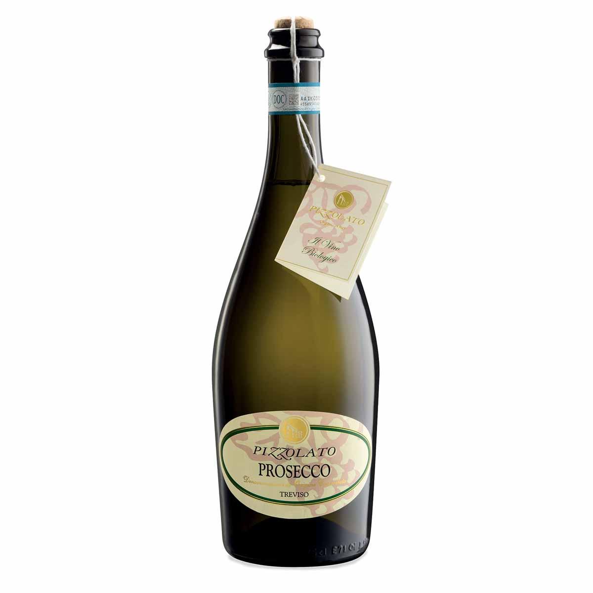 Pizzolato Vino bianco Prosecco doc Treviso vino frizzante
