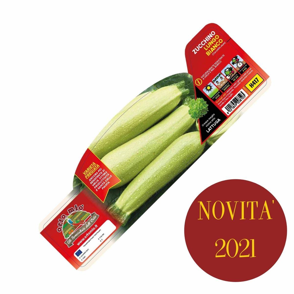 Zucchino Lungo Bianco var. Ismalia F1