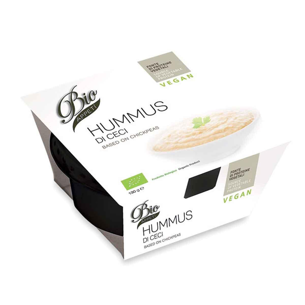 Bio appetì Hummus – crema di ceci