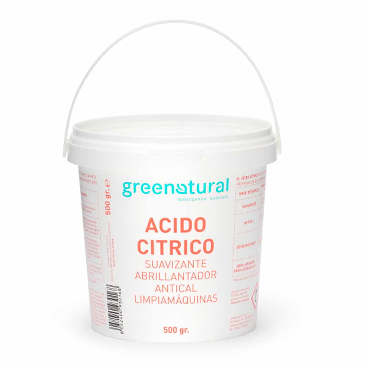 Greenatural – Acido Citrico 500g