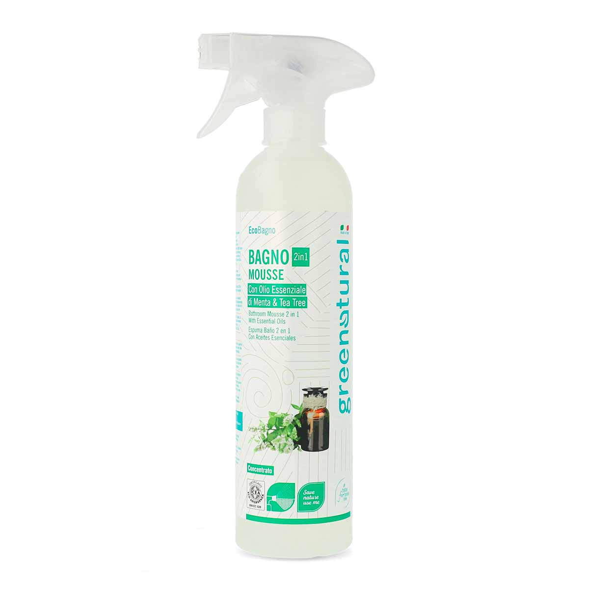 Greenatural – Bagno 2in1 Mousse