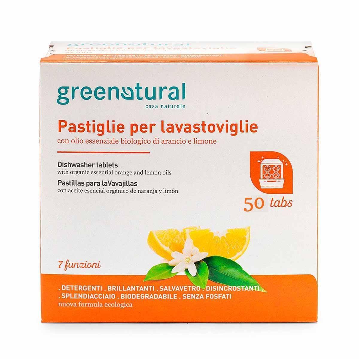 Greenatural – Greentabs lavastoviglie Family 50pz