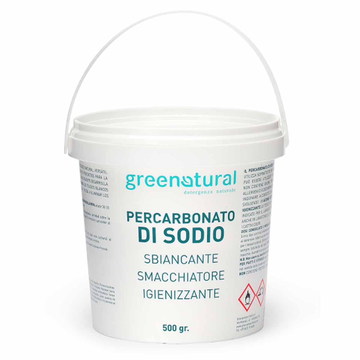 Greenatural – Percarbonato di Sodio 500g