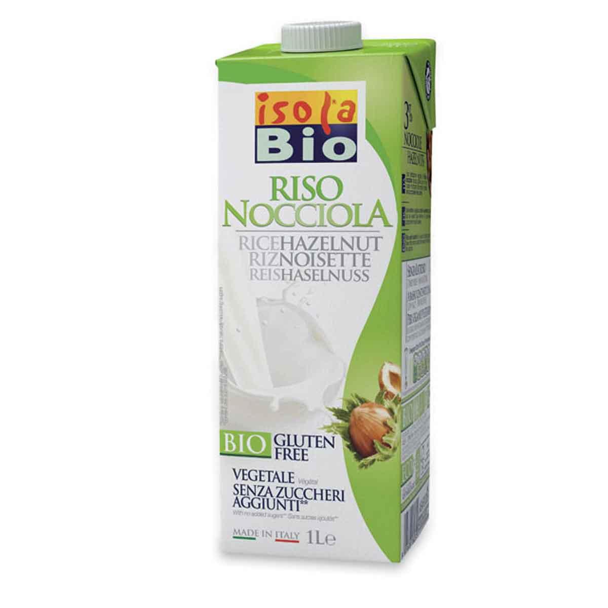 Isola bio Riso nocciola drink