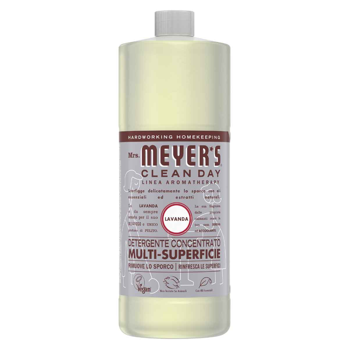 Mrs. Meyer's Detergente Concentrato multi-superficie Lavanda