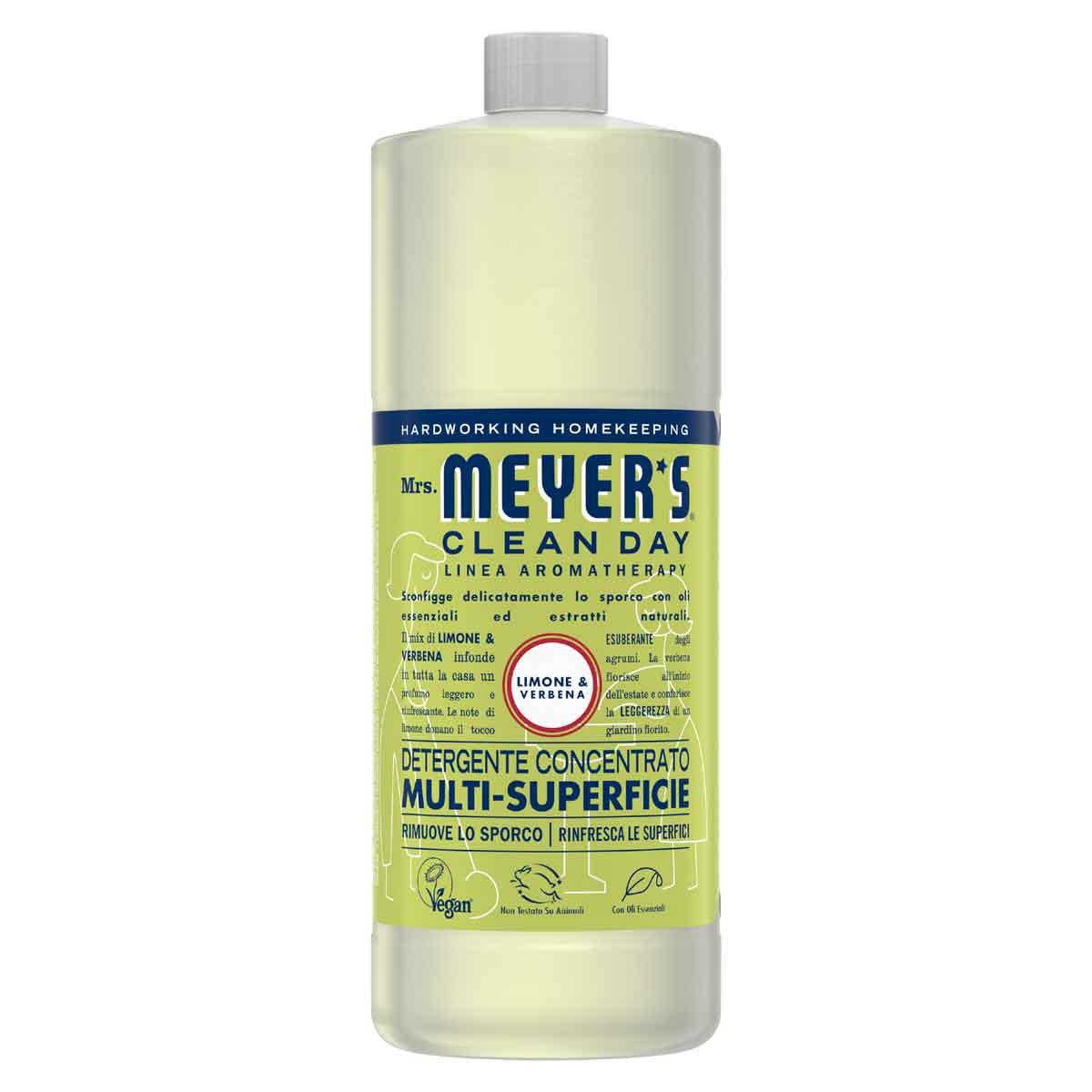 Mrs. Meyer's Detergente Concentrato multi-superficie Limone & Verbena