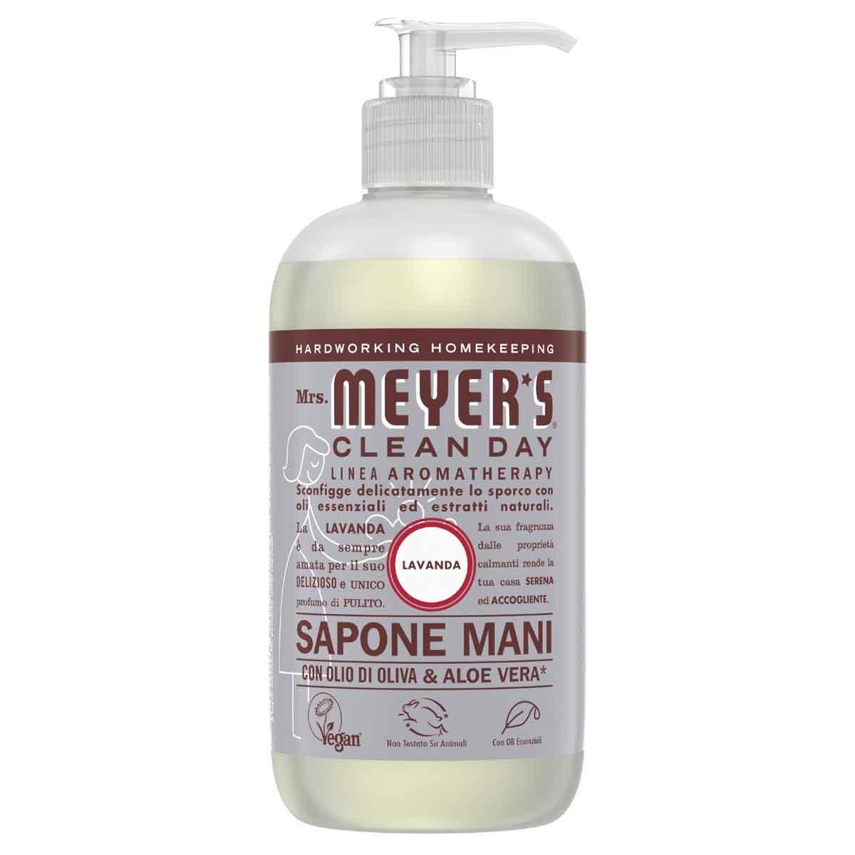 Mrs. Meyer's Sapone liquido per le mani Lavanda