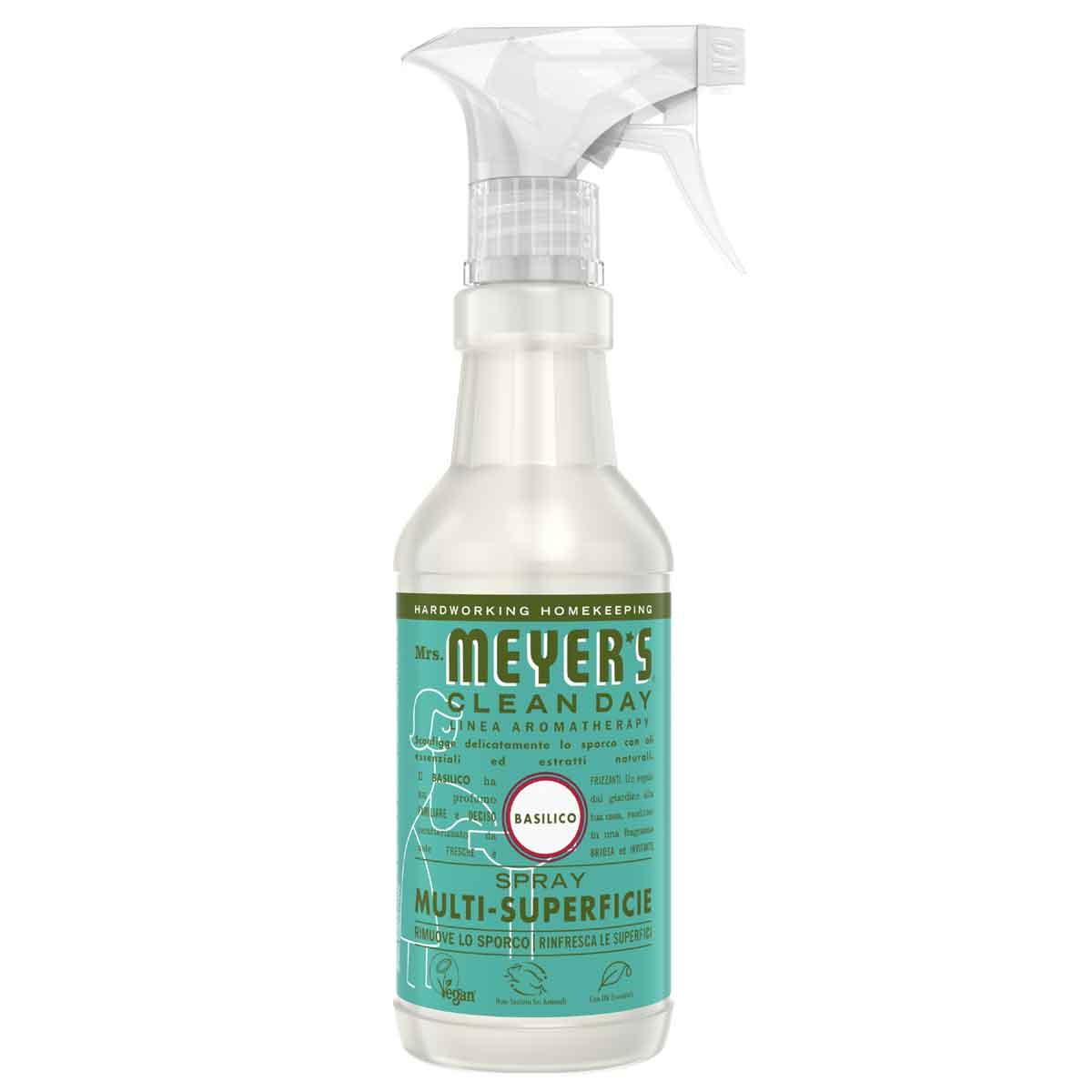 Mrs. Meyer's Spray detergente multi-superficie Basilico