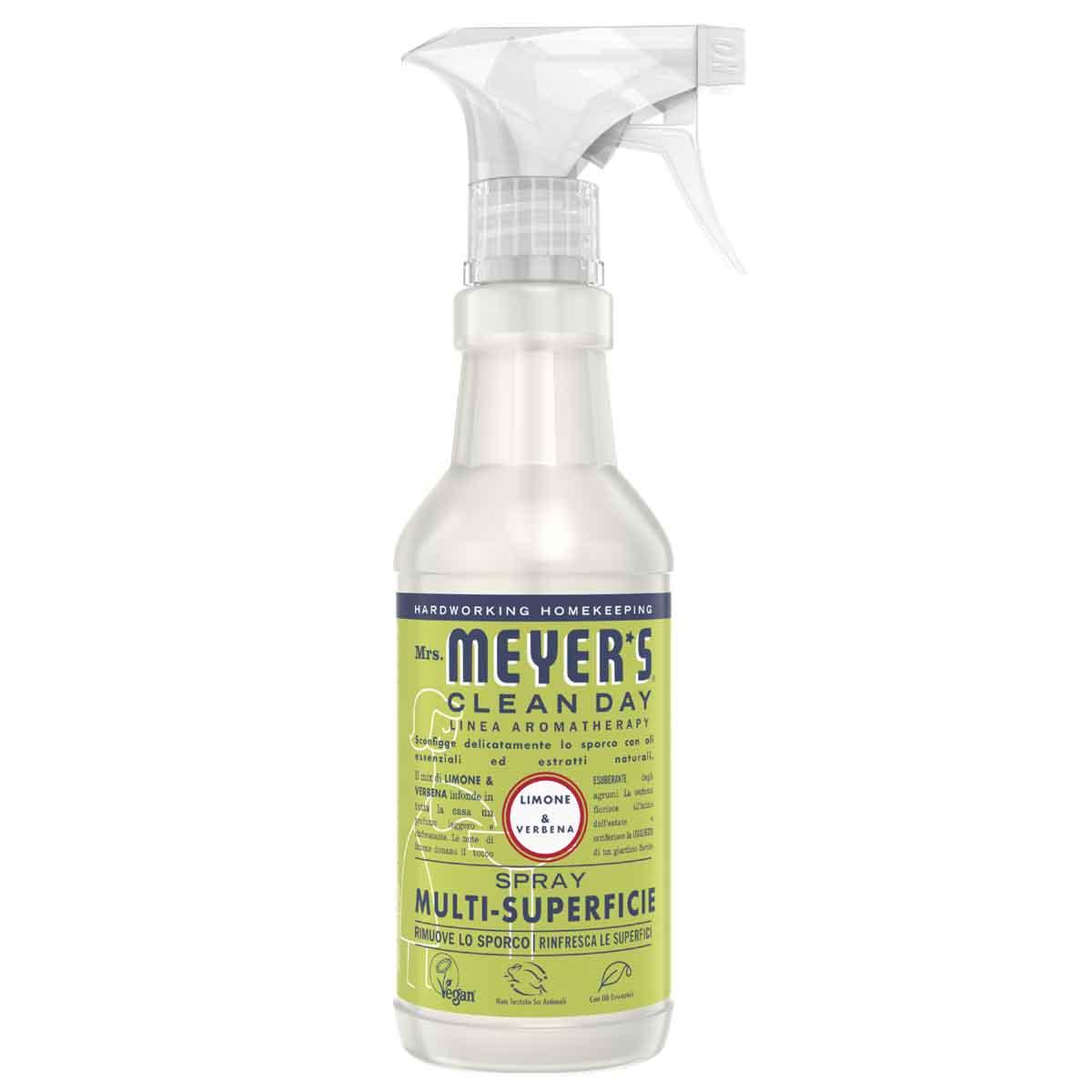 Mrs. Meyer's Spray detergente multi-superficie Limone & Verbena