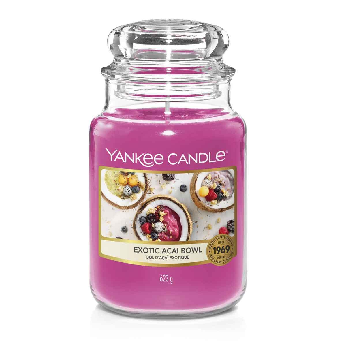 Yankee Candle Exotic Acai Bowl Giara Grande