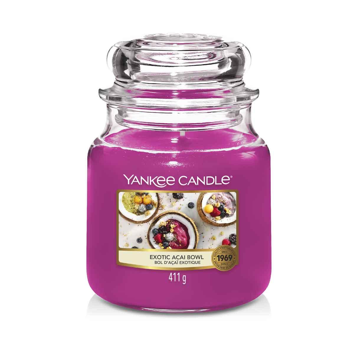 Yankee Candle Exotic Acai Bowl Giara Media