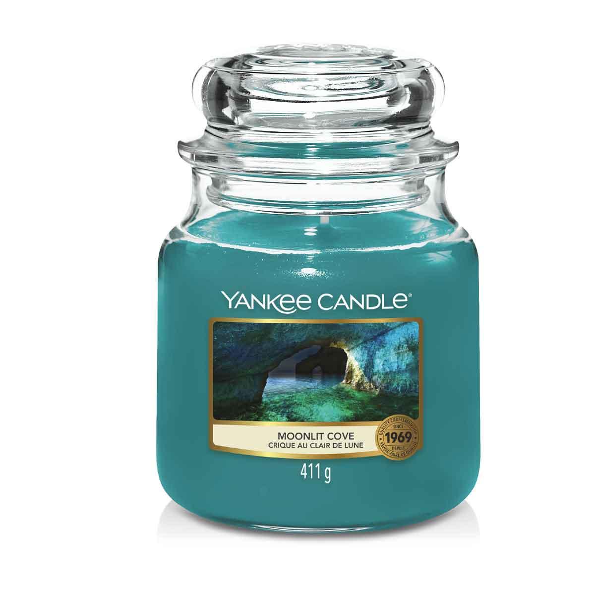 Yankee Candle Moonlit Cove Giara Media