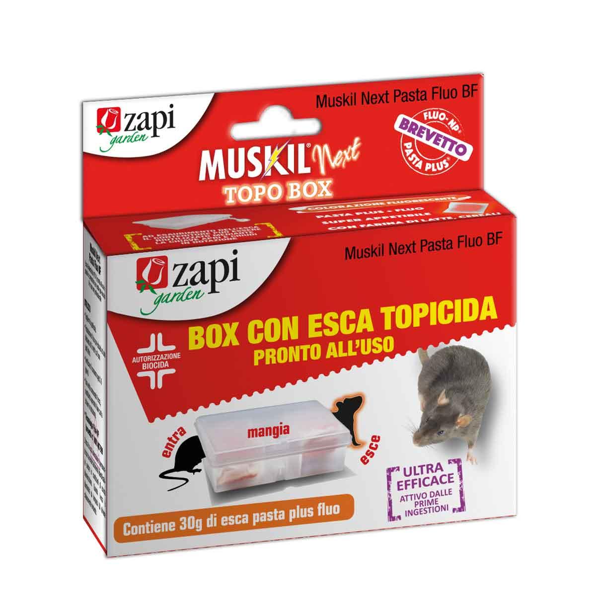 Zapi Muskil® Next Pasta Fluo BF Topo Box