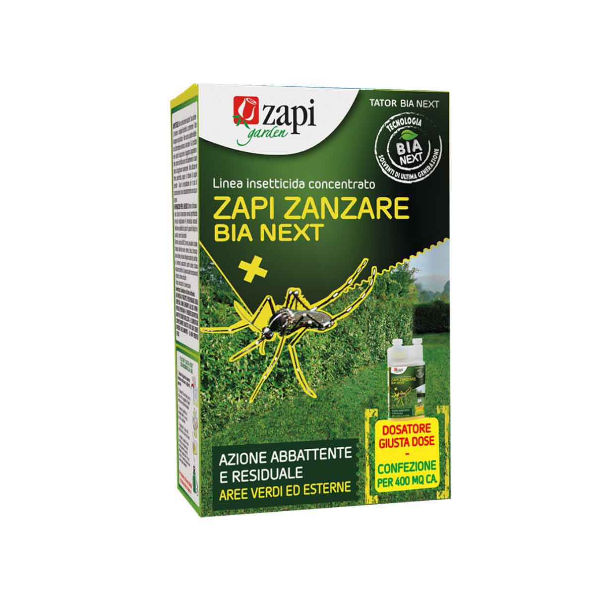 Zapi Zanzare B.I.A. Next insetticida concentrato 250ml