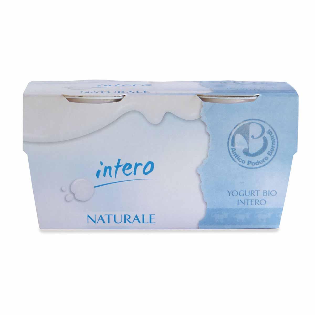 Antico podere Bernardi Yogurt intero naturale