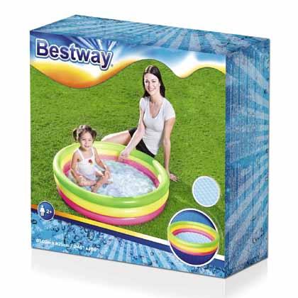 Bestway Piscina Summer 102×25 3 anelli