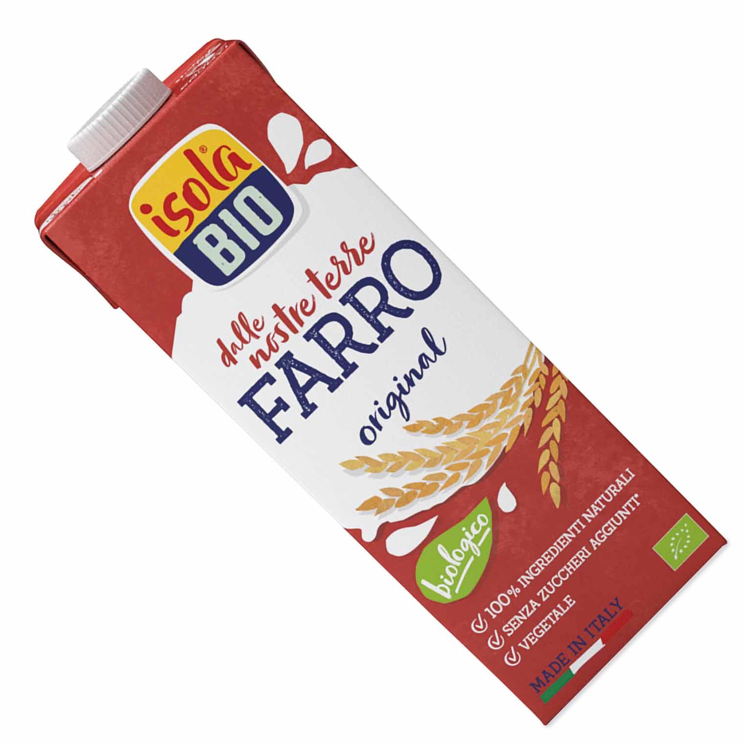 Isola bio Farro drink