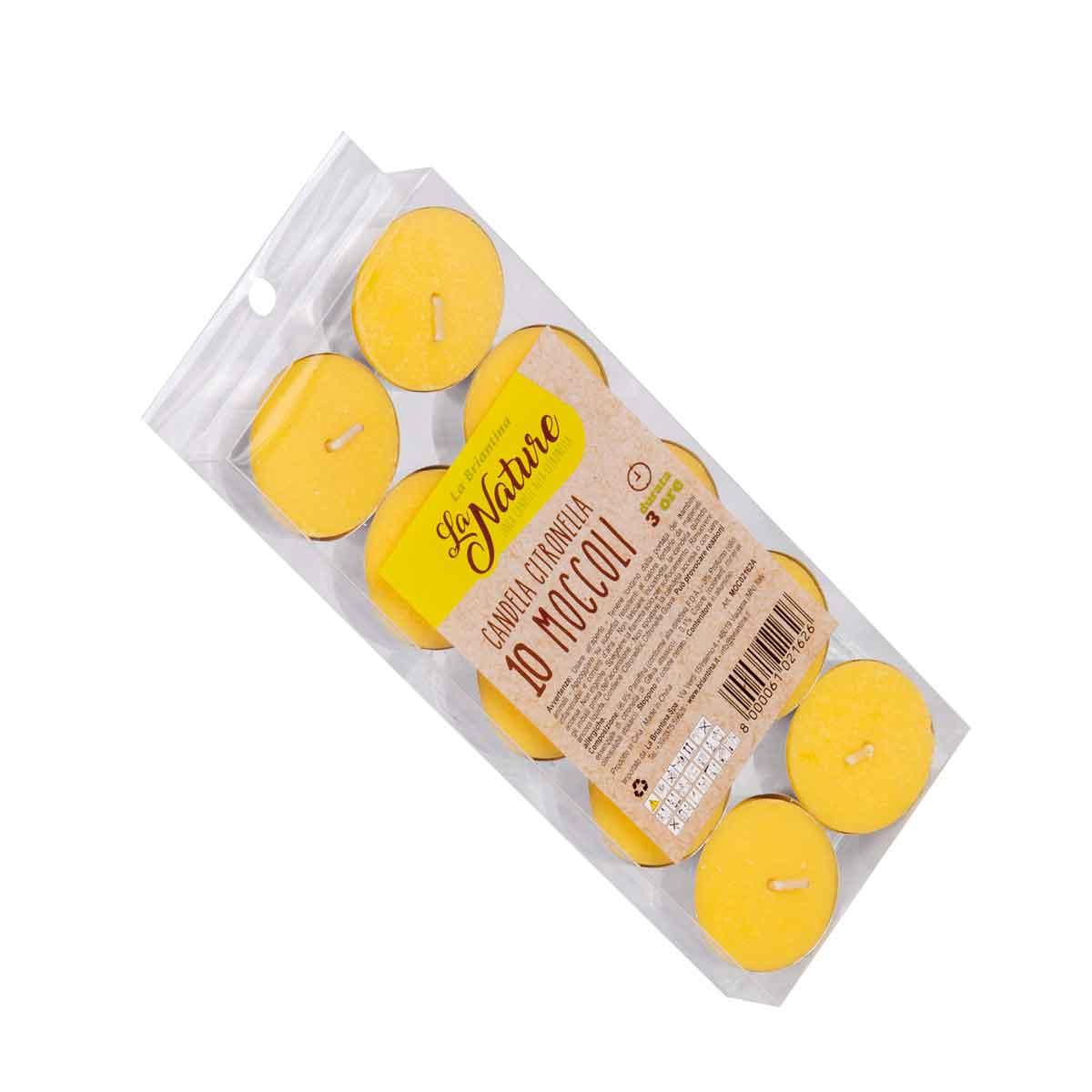 La Briantina – Moccoli alla citronella – 10pz