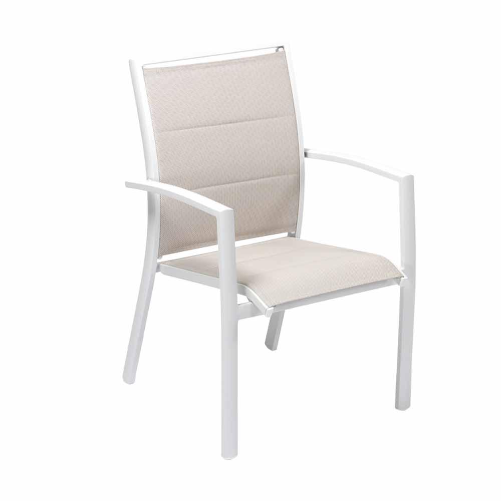 Sedia con braccioli Nordic