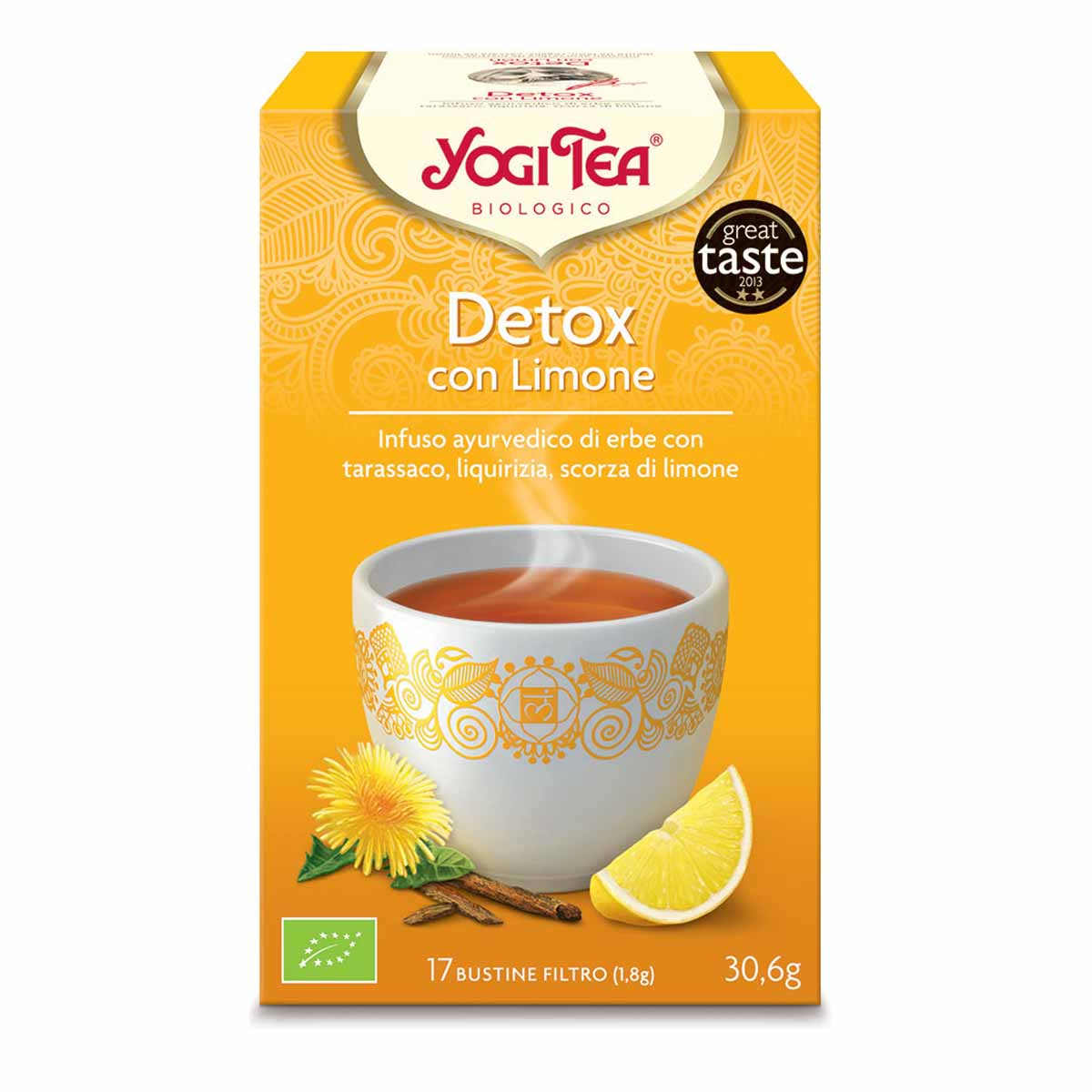 Yogi tea Detox al limone