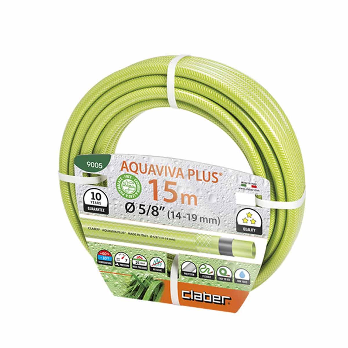 Claber Tubo Aquaviva Plus 15m 15mm∅
