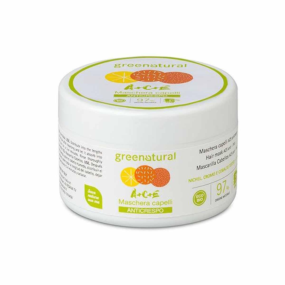 Greenatural – Maschera Capelli Multivitamine ACE