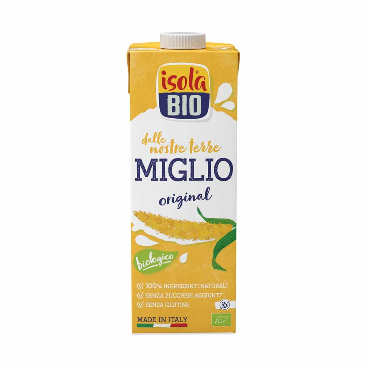 Isola bio Miglio drink