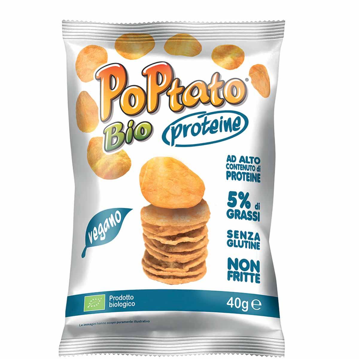 Poptato Bio – La patatina non fritta e con proteine